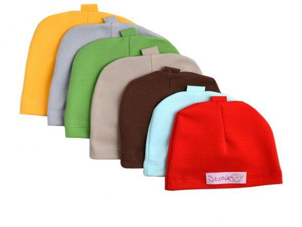 Komplet czapek dla dziecka